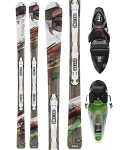 Rossignol Attraxion 6 Echo Skis w/ Saphir 110 S Wtpi2 Bindings