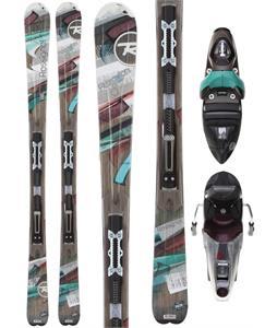 Rossignol Attraxion 8 Echo Skis w/ Saphir 110L Wtpi2 Bindings