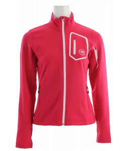 Rossignol Clim Full Zip Softshell Jacket Cochineal