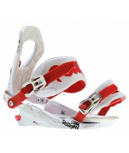 Rossignol Cobra V2 Snowboard Bindings Red/White