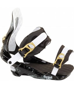 Rossignol Cobra V1 Snowboard Bindings Black/Gold