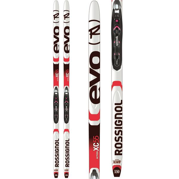 Rossignol Evo Action 55 Junior XC Skis w/ Bindings