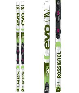 Rossignol Evo XC 59 XC Skis w/ Touring Auto Combi Bindings