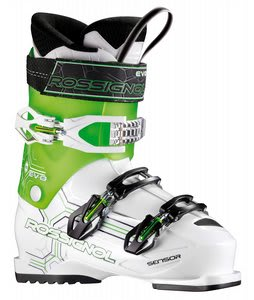 Rossignol Evo 70 Ski Boots White/Green