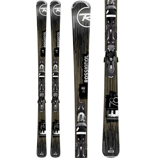 Rossignol Experience 78 Skis w/ Xelium2/Xelium 110 Bindings