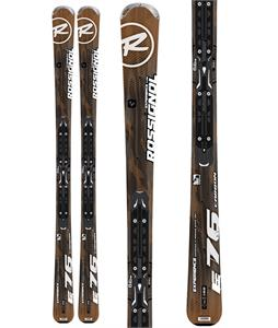 Rossignol Experience 76 Carbon Xelium2 Skis w/ Xelium 110L Black Silver