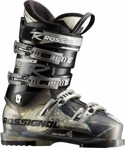 Rossignol Experience Sensor3 110 Ski Boots Transparent/Black