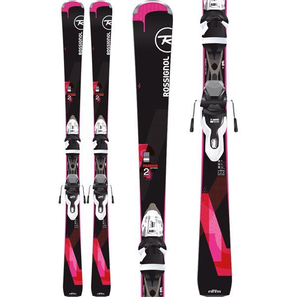 Rossignol Famous 2 Skis w/ Xpress 10 Bindings