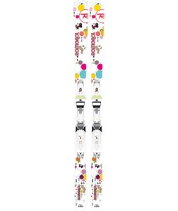 Rossignol Fun Girl Skis w/ Xelium 45 Bindings Pink