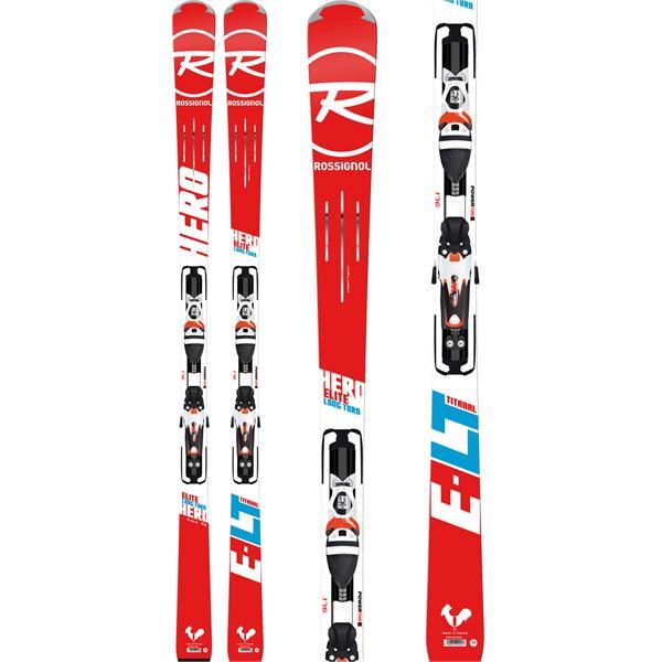 Rossignol Hero Elite LT TI Skis w/ Axial3 120 Bindings