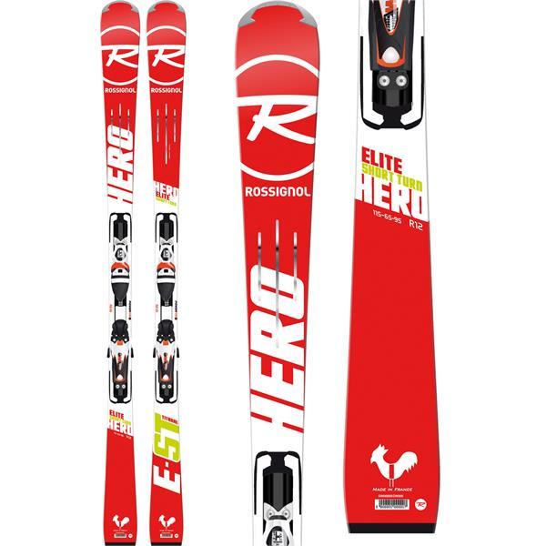 Rossignol Hero Elite ST TI Skis w/ Axial3 120 Bindings