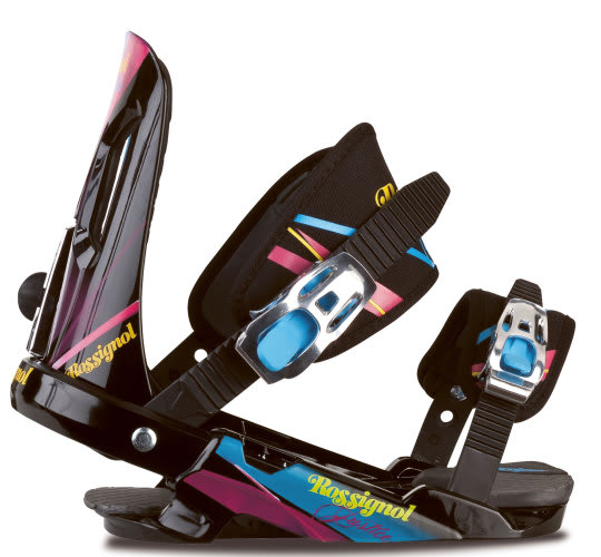 Rossignol Justice Snowboard Bindings Black/Herbal