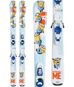 Rossignol Minions Skis w/ Kid-X 4 Bindings