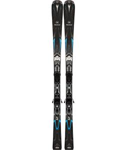 Rossignol Pursuit 12 TI Skis w/ Xelium 110S Bindings Black/Carbon