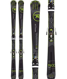Rossignol Pursuit 600 Basalt Skis w/ SPX 12 Fluid Bindings