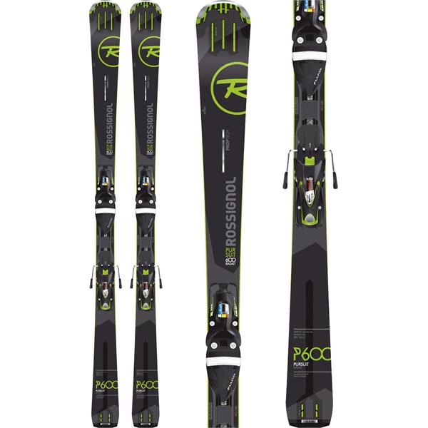 Rossignol Pursuit 600 Basalt Skis w/ SPX 12 Fluid Bindings