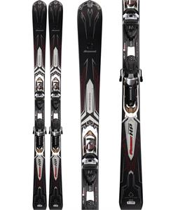 Rossignol Pursuit HP TI Skis w/ Axial2 140L TI Bindings Chrome/Black