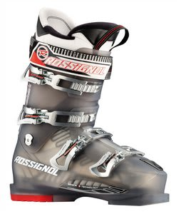Rossignol Pursuit Sensor3 90 Ski Boots Black Transparent