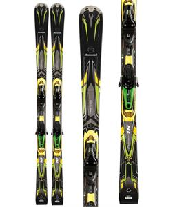 Rossignol Pursuit 16 Tpx Basalt Skis w/ Axial2 120S Tpi2