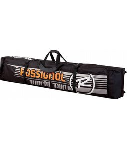 Rossignol Radical Wheeled 2/3P Cross Country Ski Bag Black Tarplin 195cm