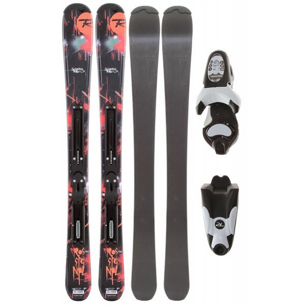Rossignol Scimitar Jr Skis w/ Axium 70 Jr Skis Zip2 Bindings