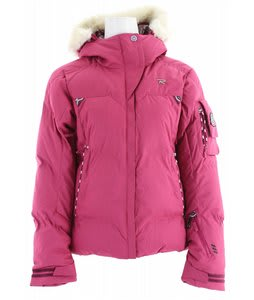 Rossignol Sky Polydown Ski Jacket Fushia