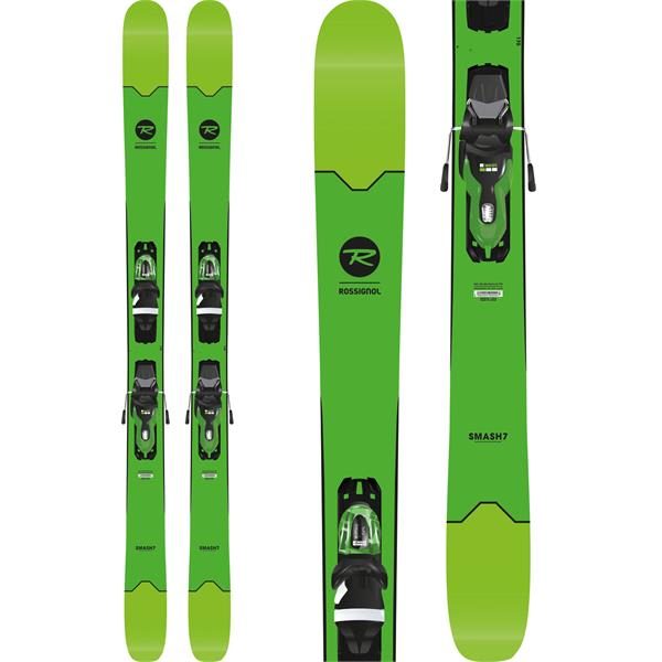 rossignol smash 7 skis w xpress 11 bindings 2018. Black Bedroom Furniture Sets. Home Design Ideas