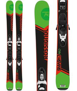 Rossignol Smash Jr Skis w/ Kid-X 4 Bindings