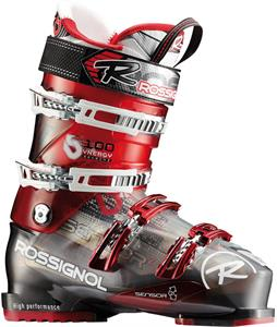 Rossignol Synergy Sensor2 100 Ski Boots Red/Transparent
