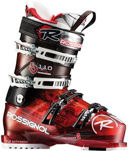 Rossignol Synergy Sensor2 110 Ski Boots Red/Black Transparent