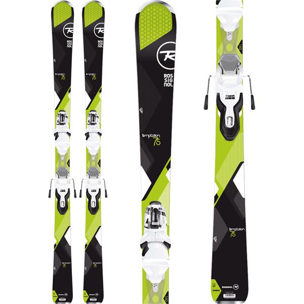 Rossignol Temptation 75 Dark Skis w/ Xpress 10 Bindings