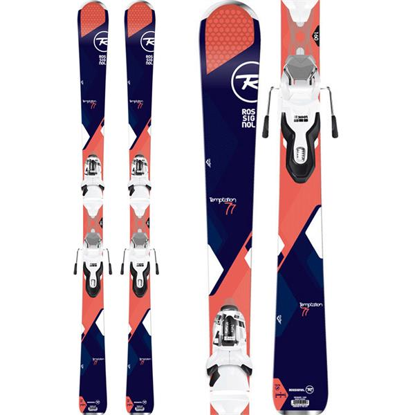 Rossignol Temptation 77 Dark Skis w/ Xpress 11 Bindings