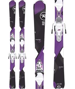 Rossignol Temptation 80 Dark Skis w/ Xpress 11 Bindings
