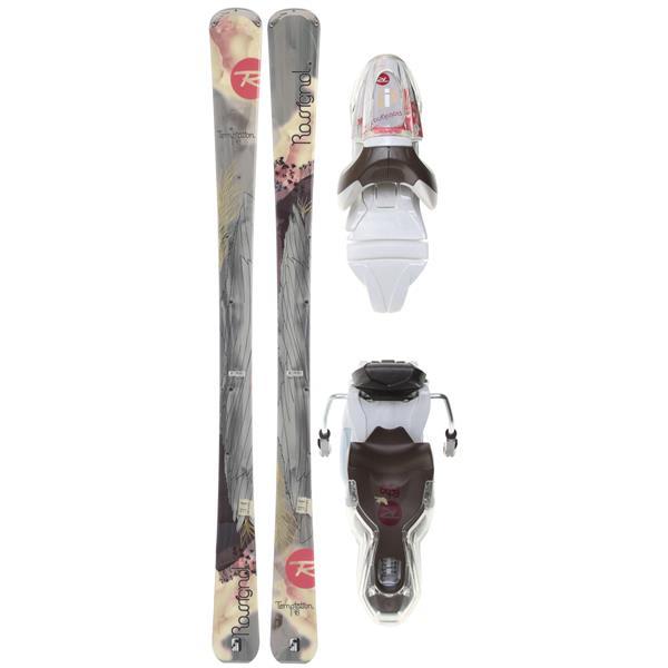 Rossignol Temptation 78 Skis w/ Xelium Saphir 110L Bindings