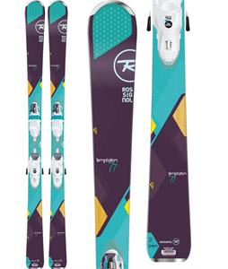 Rossignol Temptation 77 Skis w/ Xelium Saphir 110 Bindings