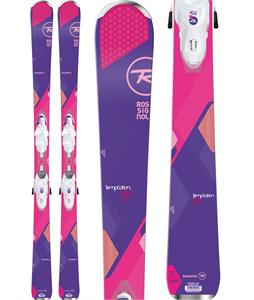 Rossignol Temptation 80 Skis w/ Xelium Saphir 110 Bindings