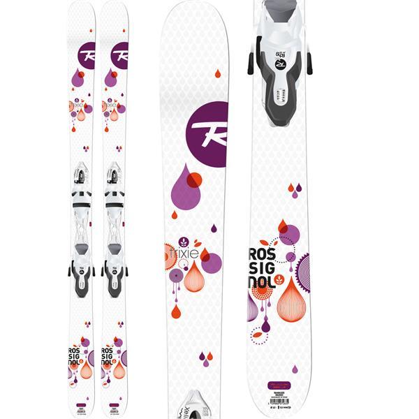 Rossignol Trixie Skis w/ Xelium Saphir 100 Bindings