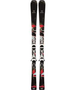 Rossignol Unique Skis w/ Saphir 100S Bindings Black/White