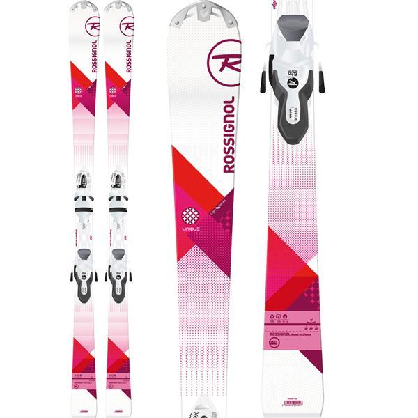 Rossignol Unique Skis w/ Xelium Saphir 100 Bindings