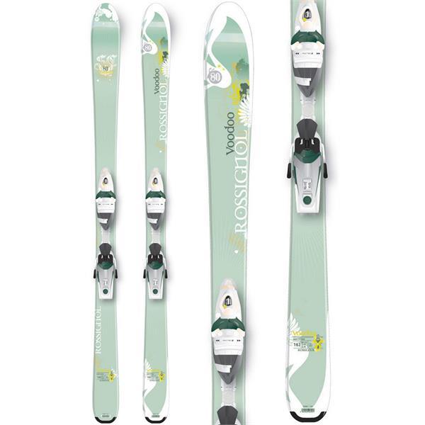 Rossignol Voodoo SC80 Skis w/ Saphir 110 Bindings