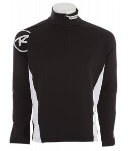 Rossignol Warm Stretch 1/2 Zip Baselayer Top Black