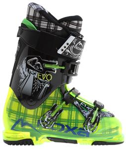 Roxa Evo 9 Ski Boots Transparent Green/Black/Black