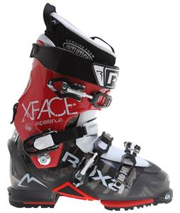 Roxa X-Face Ski Boots Smoke/Red/White