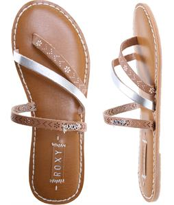 Roxy Mardi Gras Sandals Silver