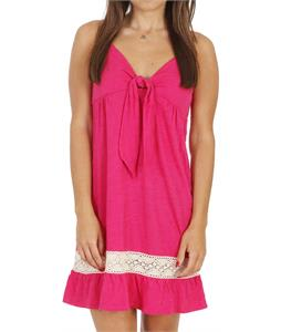 Roxy All Aboard Dress Bright Pink