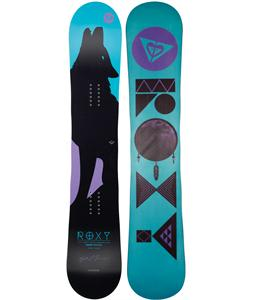 Roxy Ally Less Narrow BTX Snowboard Blem 155