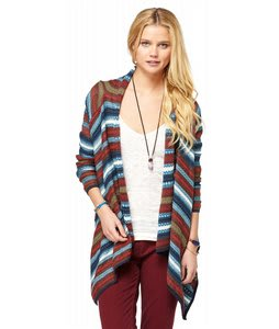 Roxy Arena Cove Sweater Teepee Turq Pattern