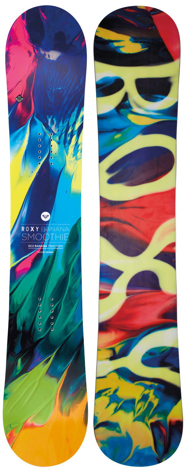Roxy Banana Smoothie EC2 Snowboard 142 - Women's