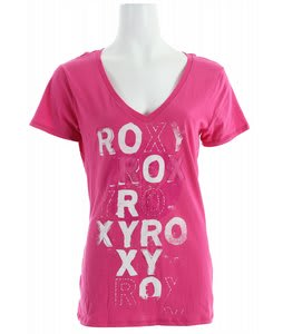 Roxy Beat Repeat T-Shirt Powwow Pink