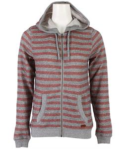 Roxy Beauty Stardust Striped Hoodie Candy Floss Stripe